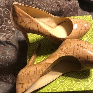 Natural colored heels